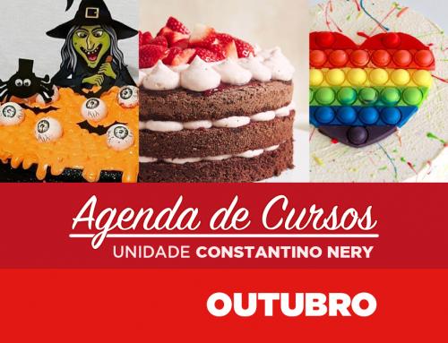 Cursos Outubro 2021 | Unidade Constantino Nery